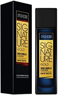 AXE Signature Gold Dark Vanilla and Oud Wood Perfume, 80ml