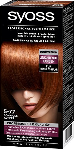 Syoss Coloration 5-77 Sunny copper by Syoss