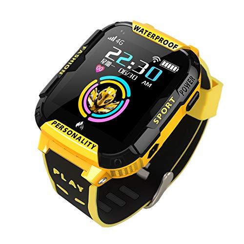 ZTYY Smart Watch 4G Android Bambini GPS Global Versione Global WiFi Braccialetto Telefono Braccialetto Digitale per Bambini Guarda Il Colore collegato iOS Francese su Un Magnete
