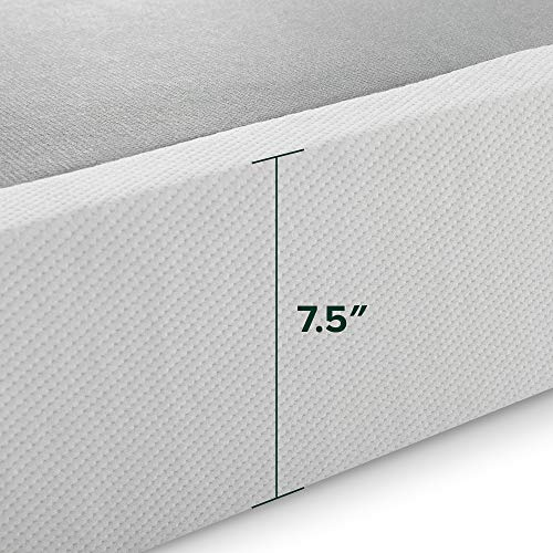 Zinus Jayanna 7.5 Inch High Profile BiFold Box Spring / Folding Mattress Foundation / Strong Steel Structure / No Assembly Required, Full