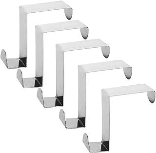 Over Door Hanger Hook Cupboard Towel Bar Rail for Kitchen Bathroom Drawer 6Pcs