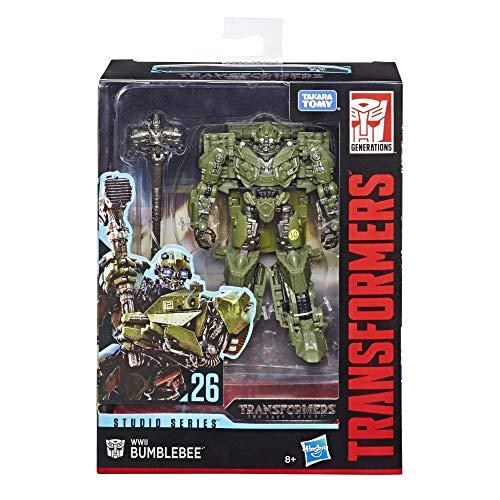 Transformers Studio Serie 26 Deluxe-Klasse Transformers: The Last Knight 2. WK Bumblebee Action-Figur, E3698ES0