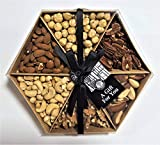 The Ludlow Nut Company Whole Nut Selection Gift-Tray - Assorted Nut GiftSet - 520 Gram