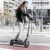 InnovaGoods Patinete Eléctrico Plegable Pro 8,5'' 7800 mAh 350W Negro, Adultos Unisex, Gris, 8,5'