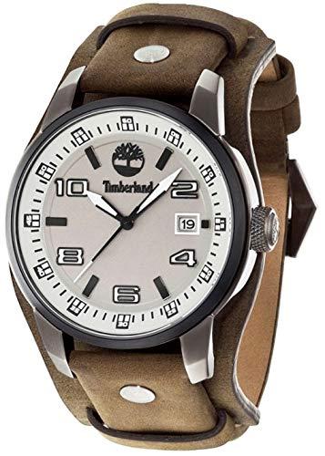 Timberland Reloj Análogo clásico para Hombre de Cuarzo con Correa en Cuero...