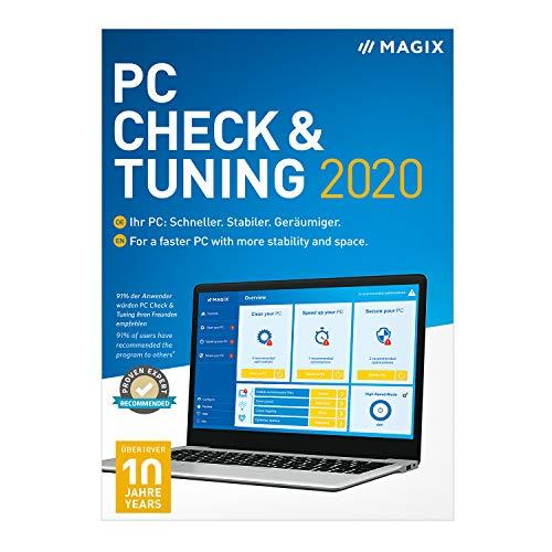 MAGIX PC Check & Tuning - 2020 Version [PC Download]