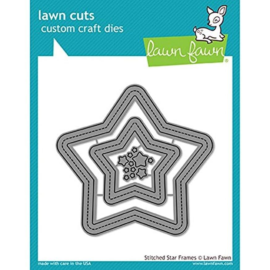 Lawn Cuts Custom Craft Die -stitched Star Frames