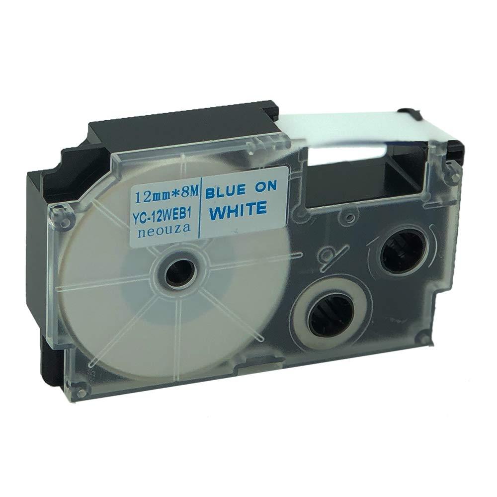 Compatible Cartridge Ribbon Label Tape 9mm For Casio KL-7400 KL-8700 KL-180 O7C6