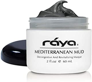 RAYA Mediterranean Mud Masque (611) | Revitalizing Facial and Body Treatment Mask for Dull and Congested Skin | Rich in Vitamins and Minerals