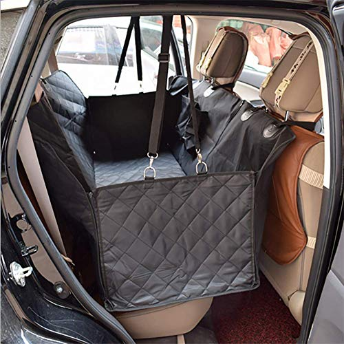 RUIX Hunde Autositz Große Hundehaustiermatte/Hintere Autountermatte des Hundes/Starke wasserdichte/Haustierreiseauflage