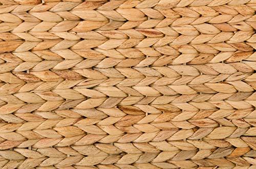 Vivanno Sitzhocker aus Wasserhyazinthe Mono Plus, 57 cm breit, Natur - 4
