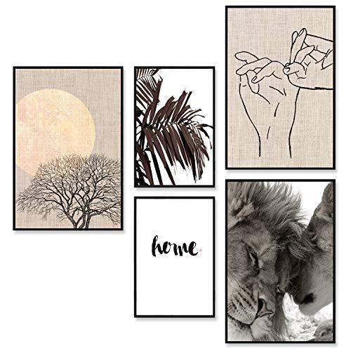 decomonkey - Bilder, Poster, Kunstdrucke & Skulpturen in Poster Set #06, Größe Poster ohne Rahmen