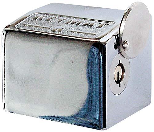 Cerradura K-5 (sólo pieza persiana). Llave tubular. NO incluye pieza suelo.