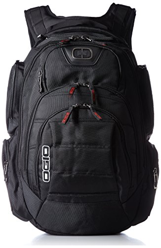 """Ogio Gambit 17 Backpack, Black, 20""""H x 12.5""""W x 11""""D"""