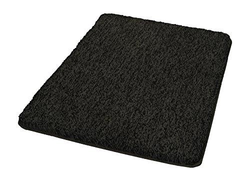 Kleine Wolke Badteppich Seattle / 55 x 65 cm/Farbe Schiefer Alfombrilla de baño, poliéster, Gris, 55x65x3 cm