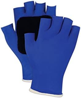 Large Blue Southern Gloves XP0020B-LMud Dawg Invert Glove Removable Winter Liner Textured Palm Triple Dip PVC Exoskeleton Impact Protection
