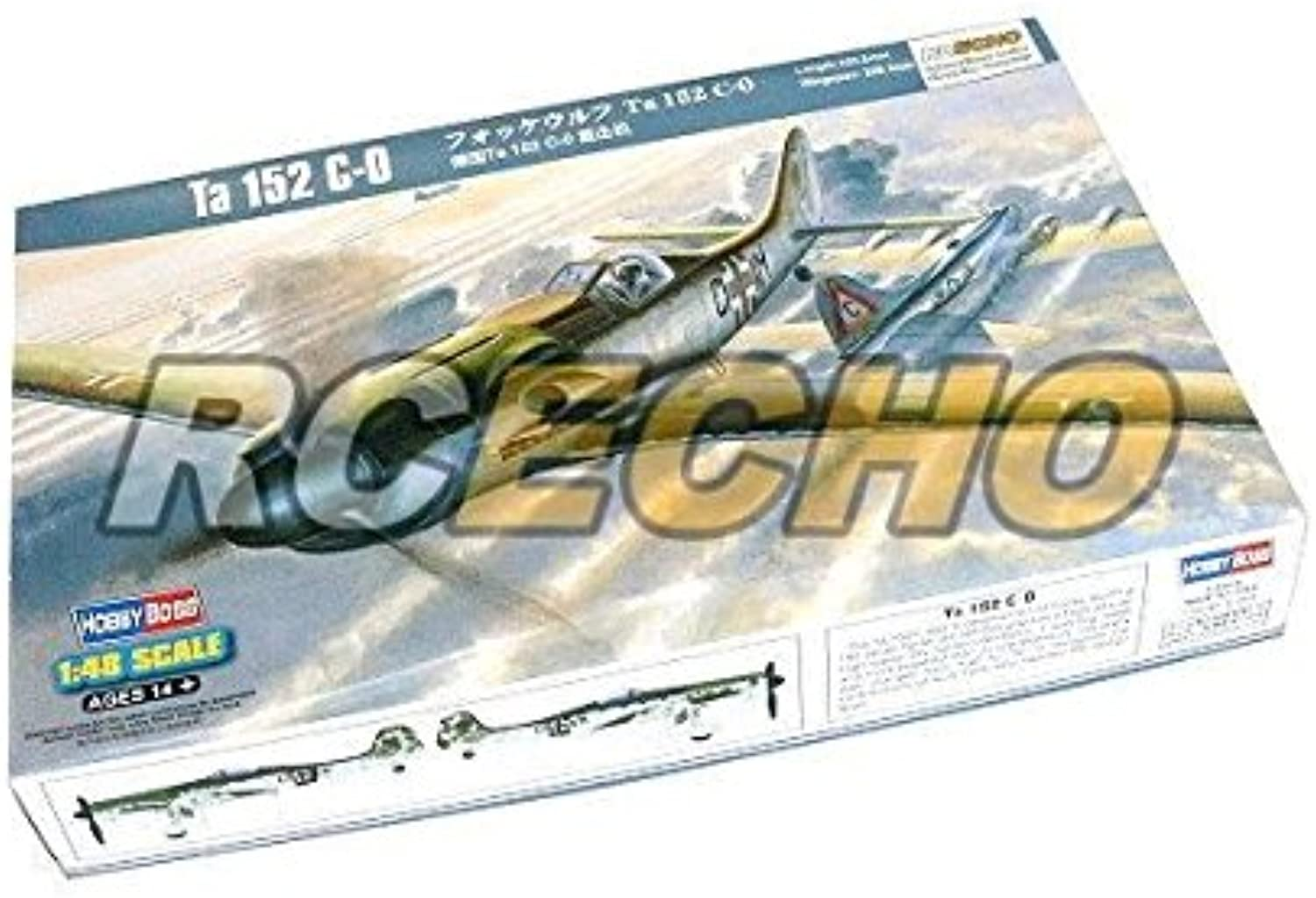 RCECHO 174; HOBBYBOSS Aircraft modello 1 48 Ta 152 C-0 Scale Hobby 81701 B1701 with 174; Full Version Apps edizione