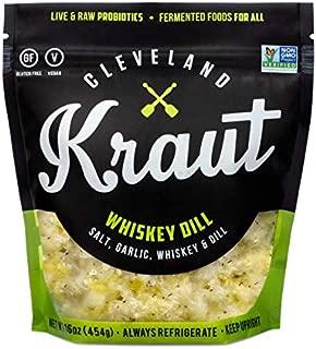 Cleveland Kraut (NOT A CASE) Whiskey Dill Sauerkraut