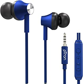pTron Pride Evo HBE (High Bass Earphones) in-Ear Wired Headphones with in-line Mic, 10mm Powerful Driver for Hi-Fi Audio, ...
