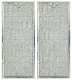 Microwave Grease Filter 6802A Replacement For Many Whirlpool Models (2-Pack)