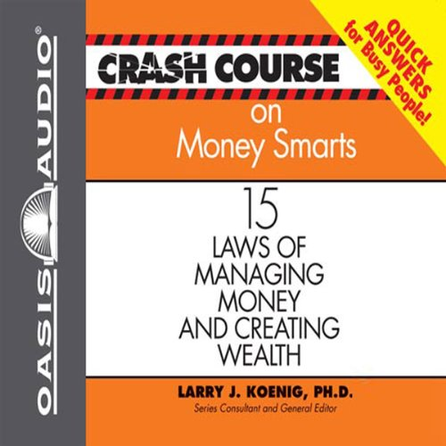 Crash Course on Money Smarts audiobook cover art