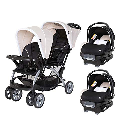 Baby Trend Sit N Stand Compact Easy Fold Toddler Baby Infant Double...