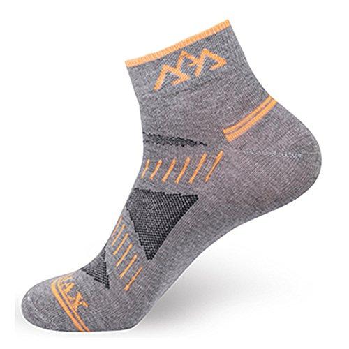 SANTO Noga Coolmax Chaussettes 3-Pack extérieur Alpinisme pour Homme Chaussettes de Sport Absorber l'humidité Perméabilité Faible Chaussettes