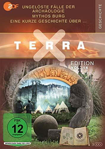 Terra X - Edition Vol. 14 Ungelöste Fälle der Archäologie / Eine kurze Geschichte über / Mythos Burg (3 DVDs)