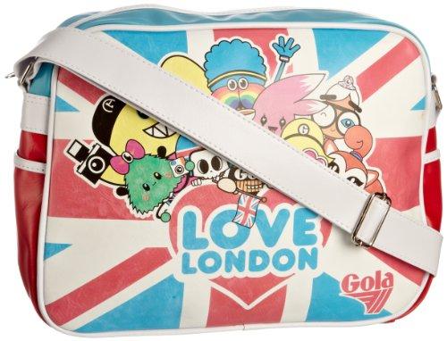 Gola Love London Retro Messenger Bag