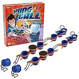 TOMY - PONG BALL Niveau Expert 41 Pièces T73020, Jeu d'Adresse avec 14 Gobelets Plastiques Bleus, Circuit de Balles avec Cascades et Ponts, 2 Joueurs+, Adapté aux Enfants et Adolescents de 6 ans+