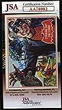 Yvonne Craig Coa Autograph 1966 Batman Card 27a Hand Signed - JSA Certified