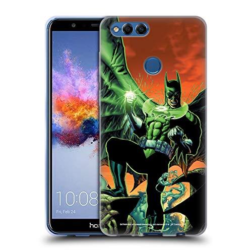 Head Case Designs Oficial Batman DC Comics Linterna Verde Disfraces icónicos Carcasa de Gel de Silicona Compatible con Huawei Honor 7X