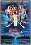 A Nightmare On Elm Street 3: Dream Warriors Movie Poster 24 x 36 Inches Full Sized Print Unframed Ready for Display