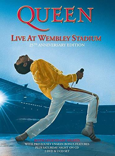 [画像:ライヴ・アット・ウェンブリー・スタジアム<25周年記念デラックス・エディション> [DVD]]