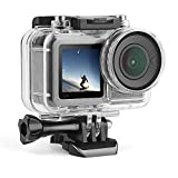Underwater Housing for DJI OSMO Action Cam, Protective Diving Housing Shell 45m with Bracket Waterproof Case for DJI OSMO Sports Camera
