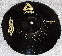 """Paiste Black Alpha SlipKnoT Joey Jordison Metal Ride 20"""" & Rock Crash 18"""" スリプノット 20インチライド&18インチクラッシュ シンバルセット オマケのHC付属 新品 パイステ ブラックアルファ/ジョーイ ジョーディソン シグネイチャーモデル"""