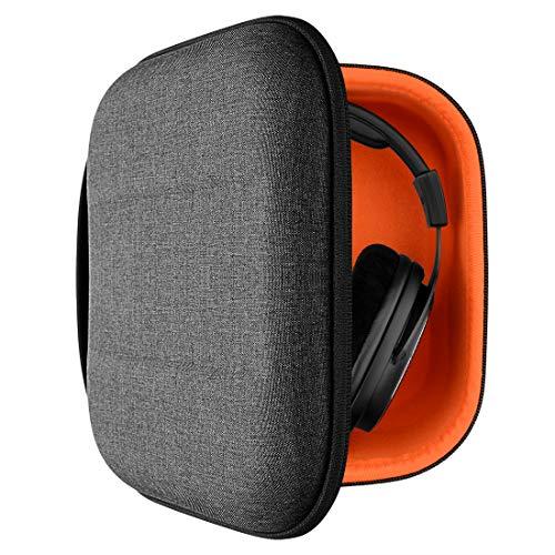 Geekria Tasche Kopfhörer für SHURE SRH840, SRH440, SRH240A, RCA WHP141B, Koss R80, UR40, UR-20, HiFiMAN HE1000, Edition X, Schutztasche, Hard Tragetasche