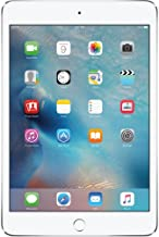 Apple iPad mini 4 64GB (Wi-Fi) 7.9-Inch iOS Tablet - Silver (Renewed)