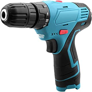 Cordless Drill Driver, 12v Lithium-Ion Electric Drill 3/8
