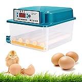 S SMAUTOP incubatori per uova, 16 incubatori automatici a doppio uovo elettrico, mini incubatore automatico con flipper, usato per schiudere uova d'oca e di quaglia, incubatore per uova 商品名称