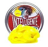 Intelligente Knete Brilla en la oscuridad (amarillo neón) sin BPA ni gluten.