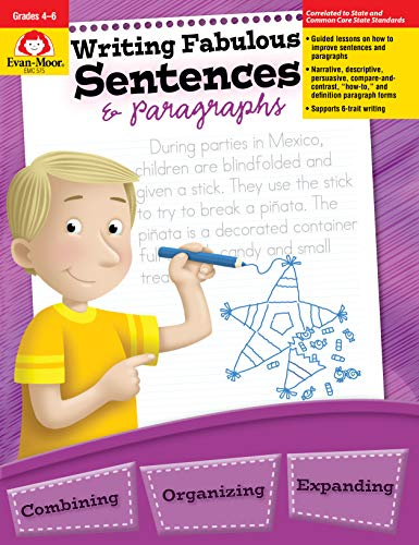 Writing Fabulous Sentences & Paragraphs, Grades 4-6