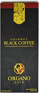 2 Boxes Organo Gold Gourmet Black Coffee - 60 Sachets