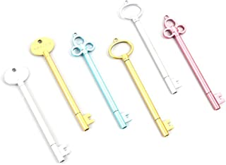 12Pcs Creative Cute Key Pen Gel Pen Ballpoint Pen Student Stationery(Random)