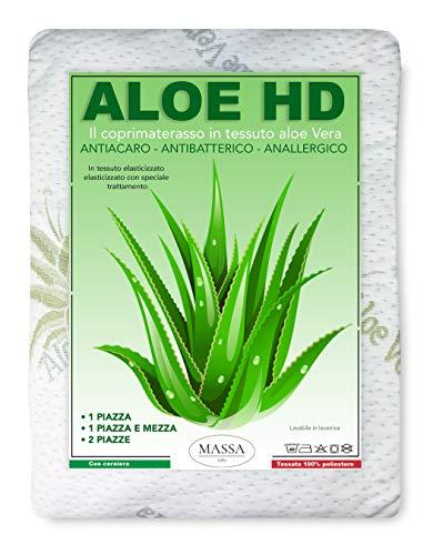 tex family Protège Matelas alèse Aloe Vera Bio Natural – 1 Place