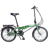 Dahon Mariner i3, Bicicletta Pieghevole Unisex Adulto, Verde, 20'