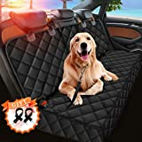 Dog Car Seat Cover, Seat Cover Protector for Pets with 2 Dog Seat
