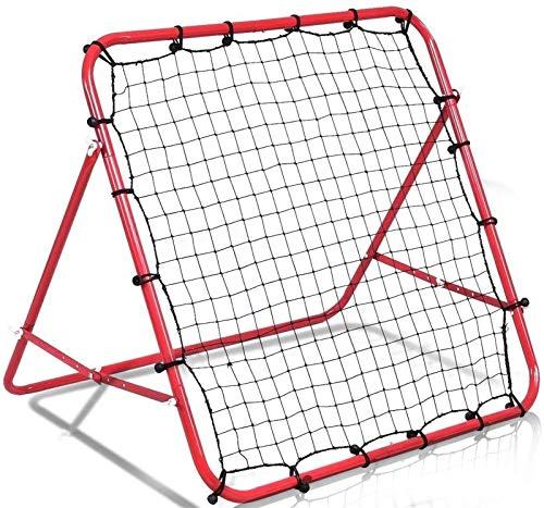 Red de Entrenamiento de béisbol y softbol Rebote de formación neta de Formación Beisbol ayudas a la formación for mejorar el fútbol Pass y Habilidades Solo Target bola contragolpe fútbol Rebounder net