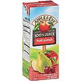 Apple & Eve 100% Juice, Fruit Punch, 6.75 Fluid-oz, 8 Count, Pack of 5