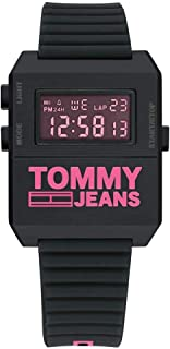TOMMY HILFIGER EXPEDITION MEN's BLACK DIAL WATCH - 1791676